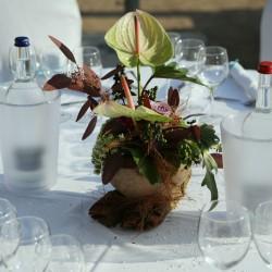 Golden Catering Lionswerkstatt Hochzeit Hamburg Norderstedt Tisch